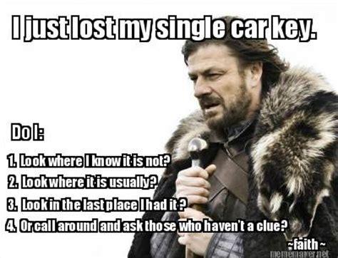 Lost Car Keys Memes