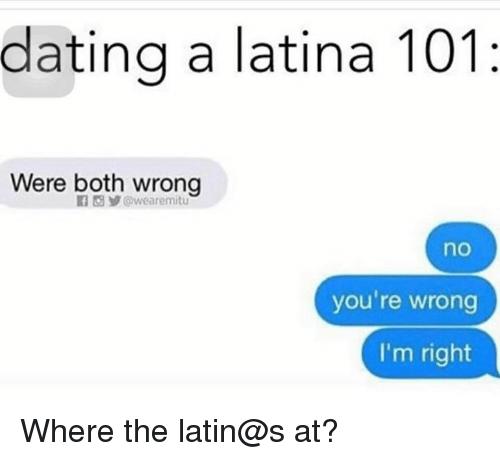 Dating latinas meme carbon dating vs bible