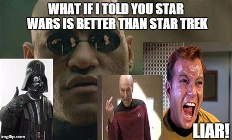 Star trek star wars Memes