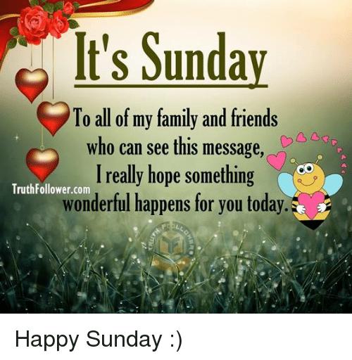 Happy Sunday Memes