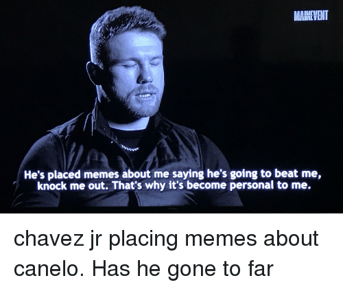 Funny Canelo Memes Of 2017 On Me Me Amigas