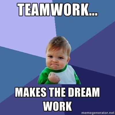 Teamwork Memes