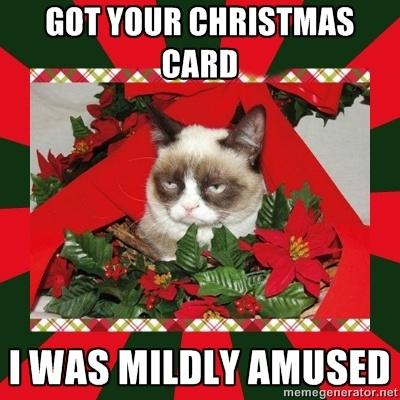 Funny Grumpy Cat Christmas Memes.Cat Christmas Memes