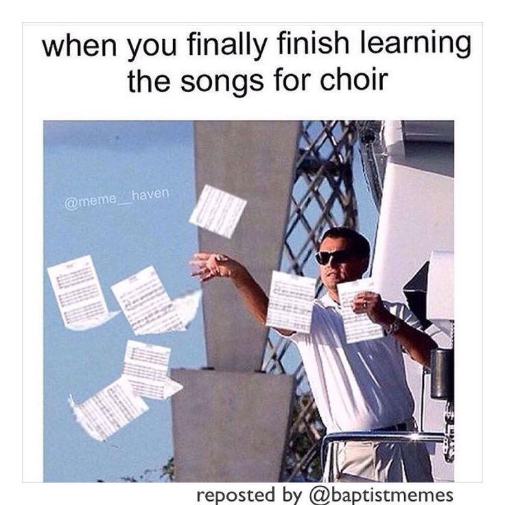 Funny choir Memes