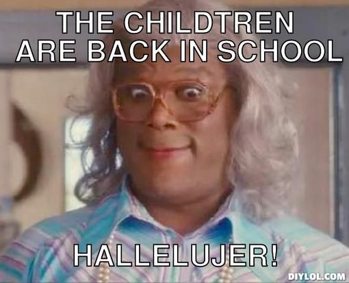 Funny Back To School Memes