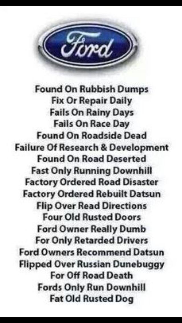 Ford Joke Memes