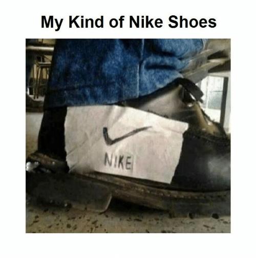 Funny Nike Shoes Meme