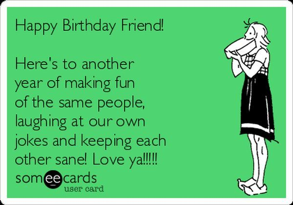 Best Friend Birthday Memes