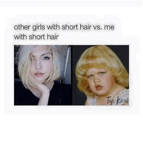 Short Hair Memes