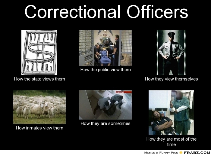 correctional officer memes