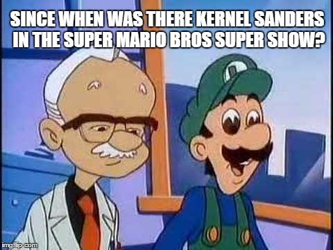 dank super mario bros super show memes