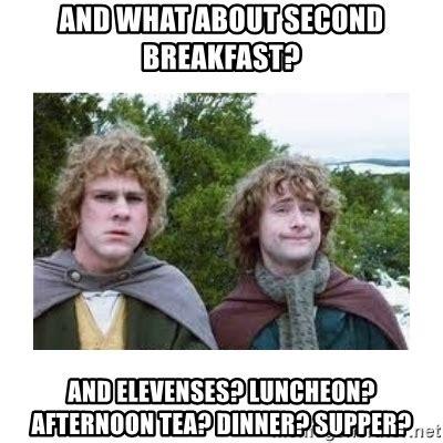 Second breakfast Memes
