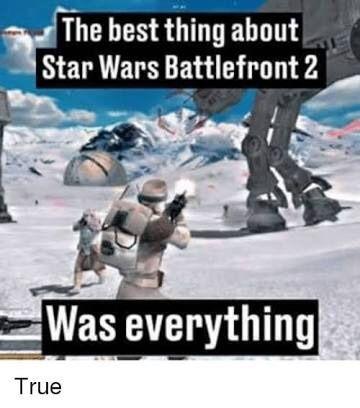 Star Wars Battlefront 2 Memes