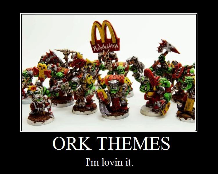 Warhammer 40k Ork Memes