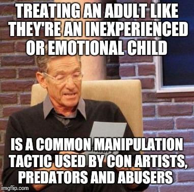 8 Signs of Emotionally Manipulative People 1 They Turn ... |Manipulative Meme