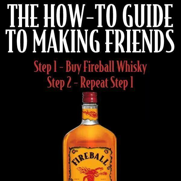 Fireball Whiskey Memes