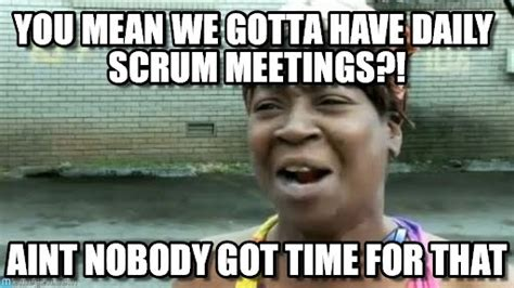 Image result for daily scrum funny