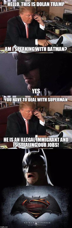 Trump Batman Memes