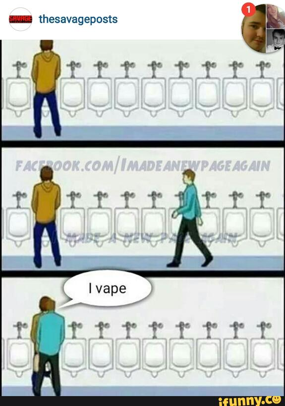 Vaping Is Gay Memes