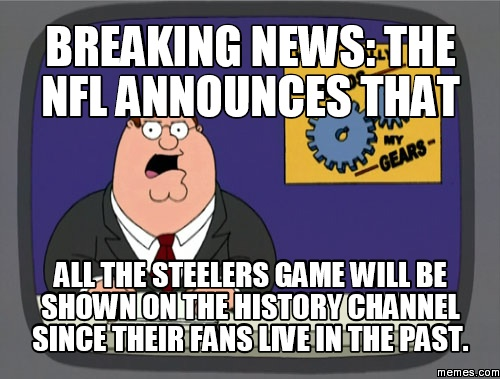 Pittsburgh Steelers Memes