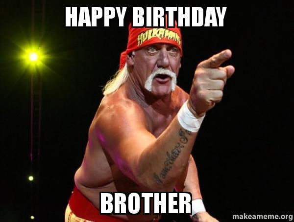 Wrestling Birthday Memes