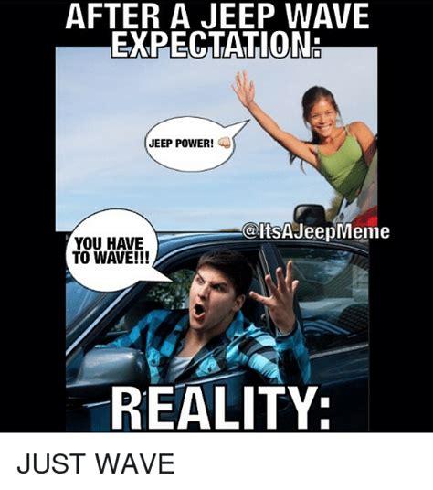 Jeep Wave Memes