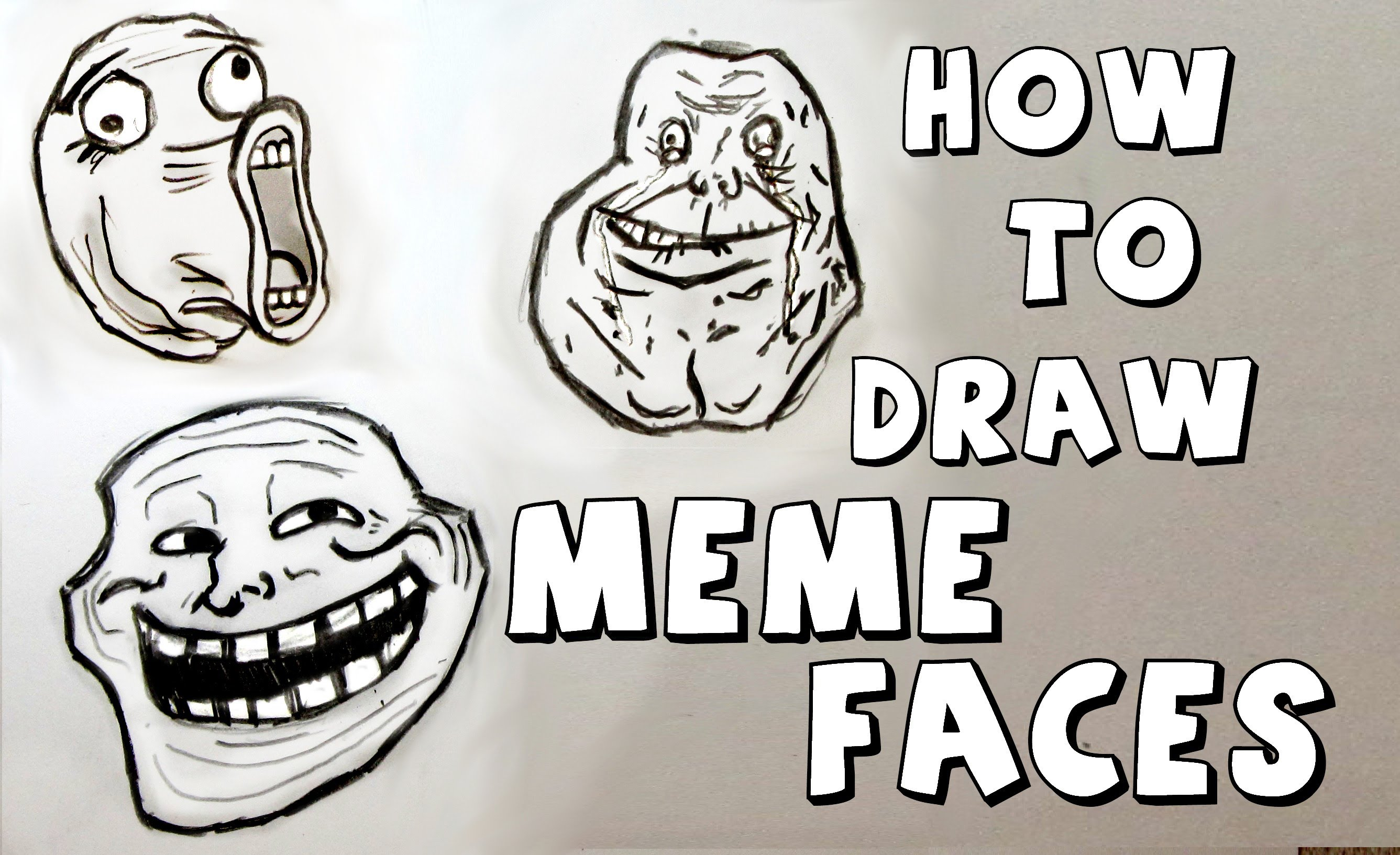 Cartoon Memes Easy To Draw Drawing Art Ideas