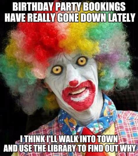 Clown Happy Birthday Memes