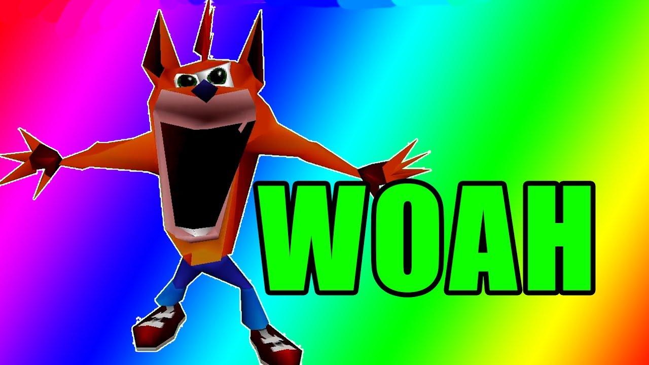 Crash bandicoot woah Memes