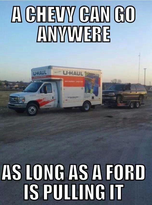 Ford Vs Chevy Memes