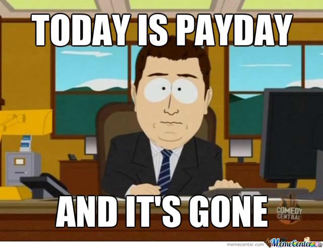 Payday Memes