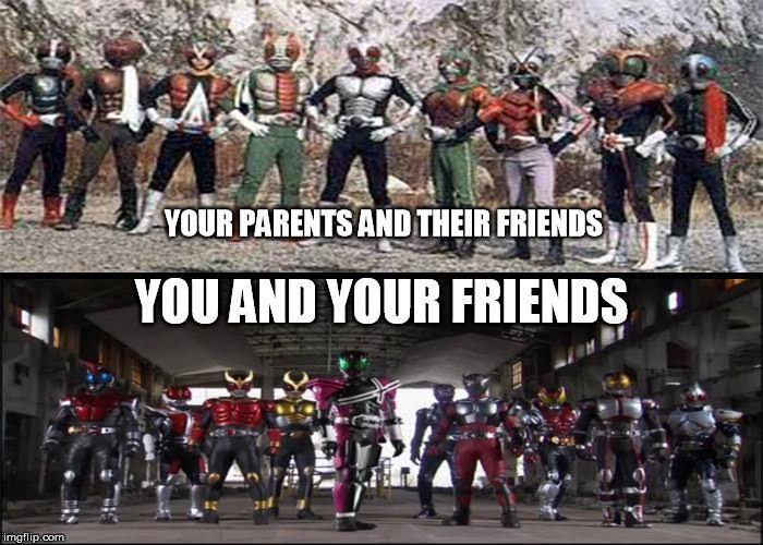 Kamen Rider Memes