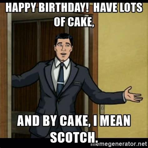 Scottish Birthday Memes