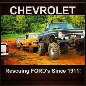 Ford Vs Chevy Jokes Kit
