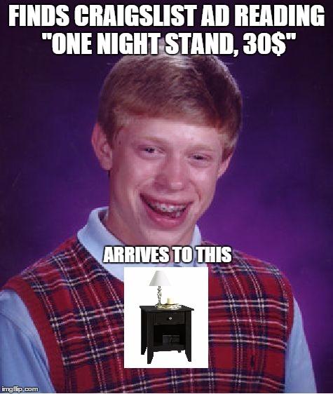 3a8e71965d6f BAD LUCK BRIAN MEMES 9GAG image memes at relatably.com