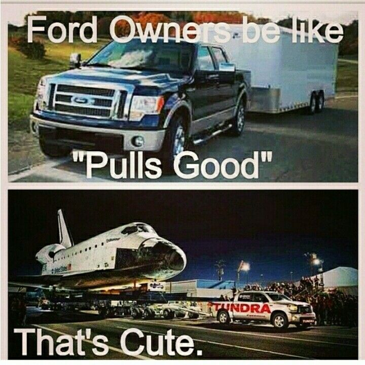 Ford vs chevy truck Memes