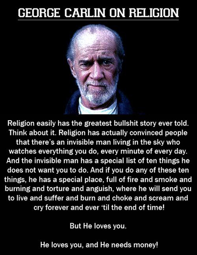 9 george carlin quotes in dose of funny