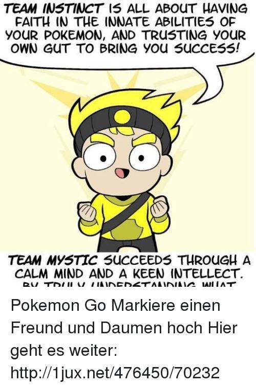 Team instinct Memes