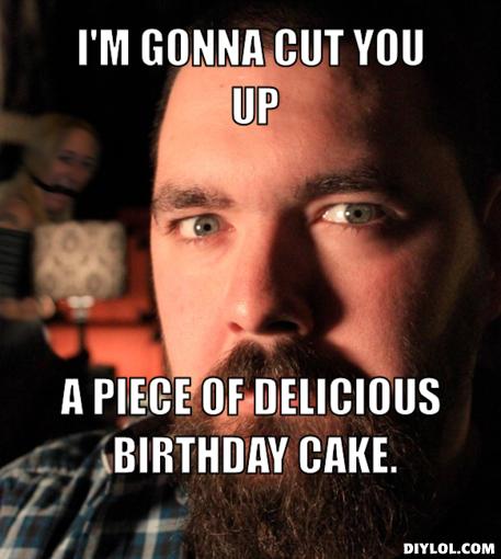 Bodybuilder birthday Memes