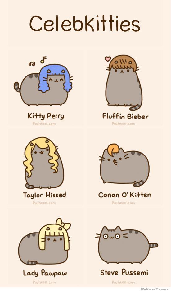 Pusheen Cat Memes Clean