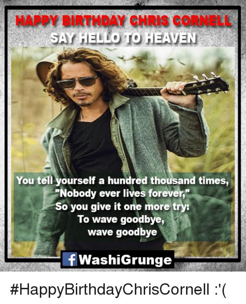 Chris Cornell Memes