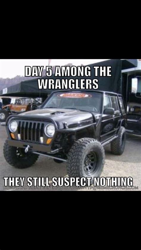 Jeep Wrangler Memes