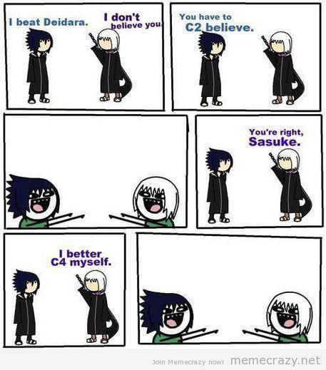 Funny Naruto Memes Five Funny Anime Meme Comics