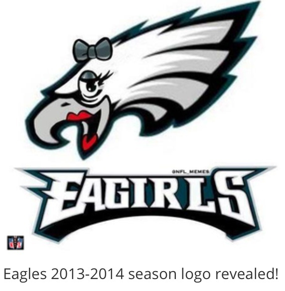 Image result for eagles funny logo