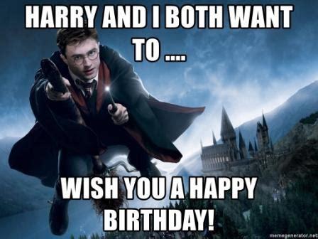 Harry Potter Happy Birthday Memes
