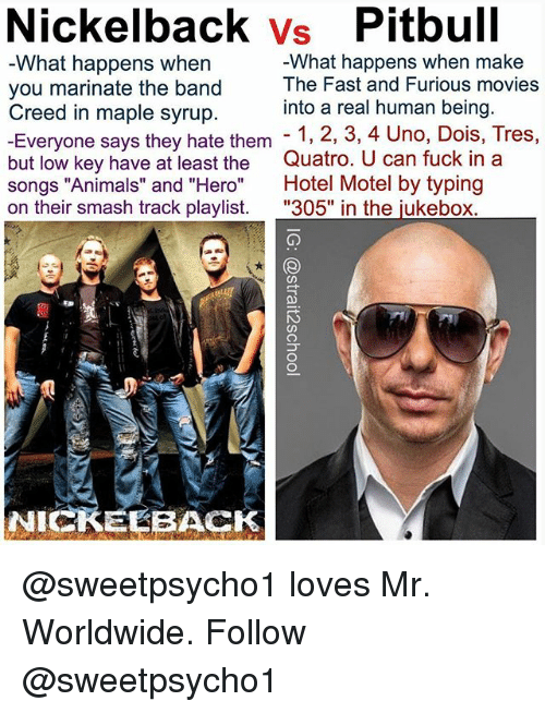 Pitbull Mr Worldwide Meme