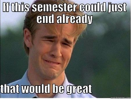 End Of Semester Memes