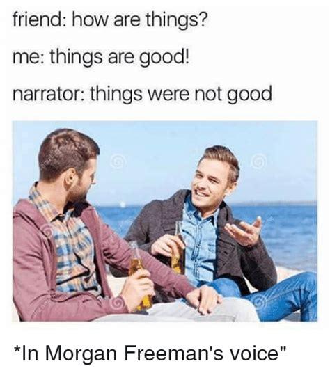 Narrator voice Memes