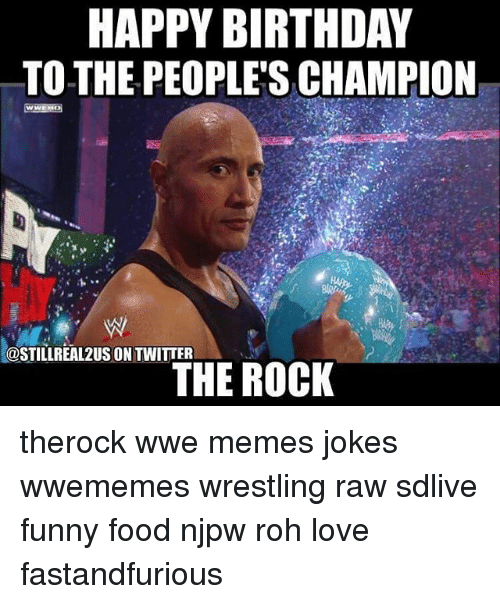 Funny Happy Birthday and Wrestling Memes of 2016 on SIZZLE |Happy Birthday Wrestling Memes