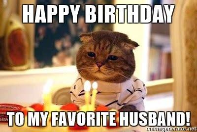 Happy Birthday Husband Funny Meme
